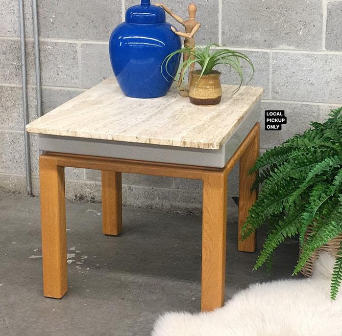 LOCAL PICKUP ONLY ———— Vintage Spectrum End Table by RetrospectVintage215