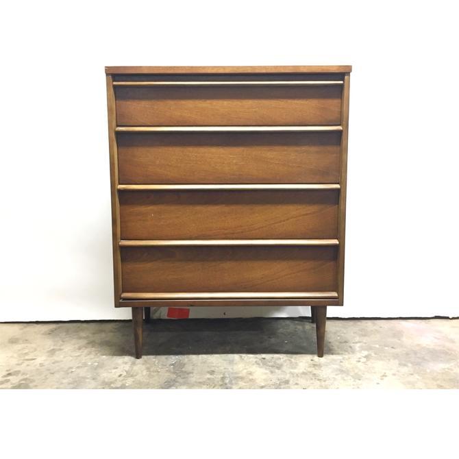 Mid Century Tall Dresser by Bassett