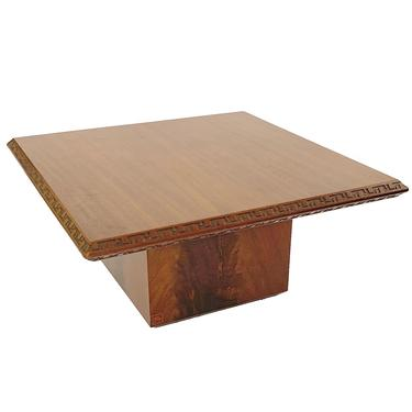 Frank Lloyd Wright Side Table (Pair Available) for Heritage Henredon Circa 1955
