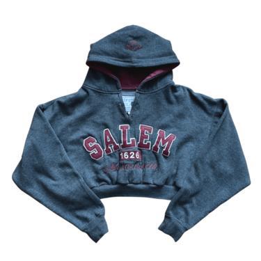 L\/S Salem Slash Crop Hoody