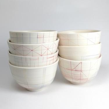 Rainbow Pattern Ware Bowl