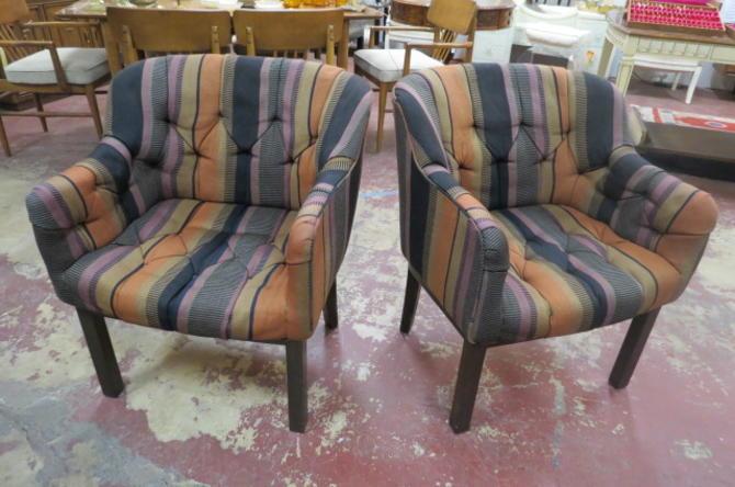 Vintage MCM Edward Wormley for Dunbar chairs