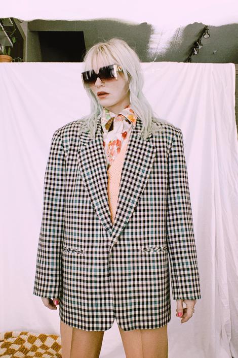 Vintage 70s | Pendleton Check Blazer by TheMetalRomanticShop