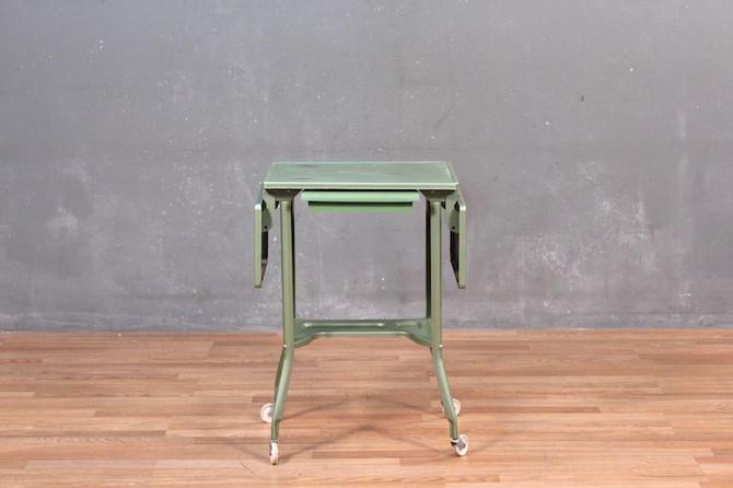 Industrial Jade Typewriter Table