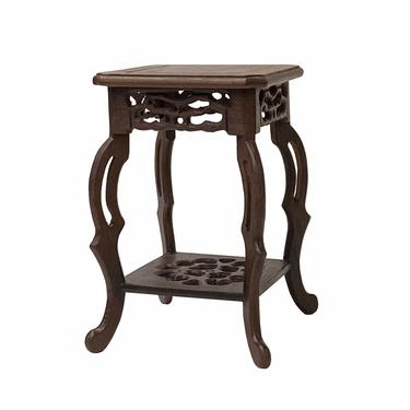 """Chinese Brown Wood Square Tall Table Top Stand Display Easel 3.5"""" ws1615CE by GoldenLotusAntiques"""