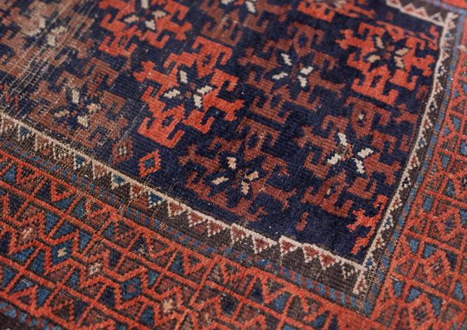 Blossom Vintage Sarouk Rug