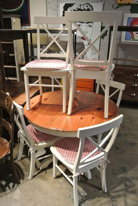 Chair and Table Set. $425