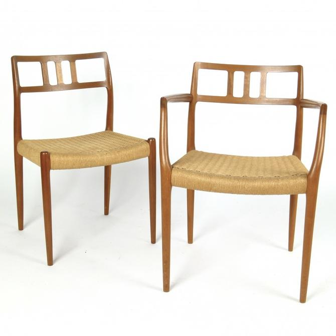 Set of 6 Niels Moller Chairs