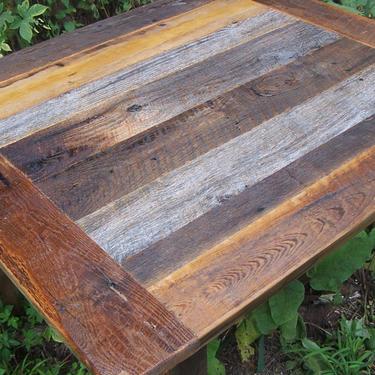 barnwood furniture - Barnwood Kitchen Table