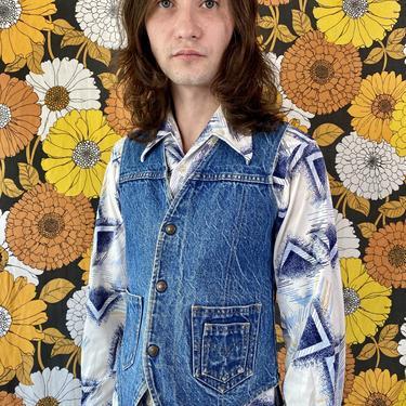 Bad Ass 1970's Levi's Vest