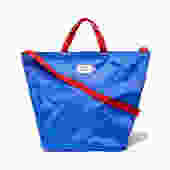 BATTENWEAR ROYAL/RED PACKABLE TOTE