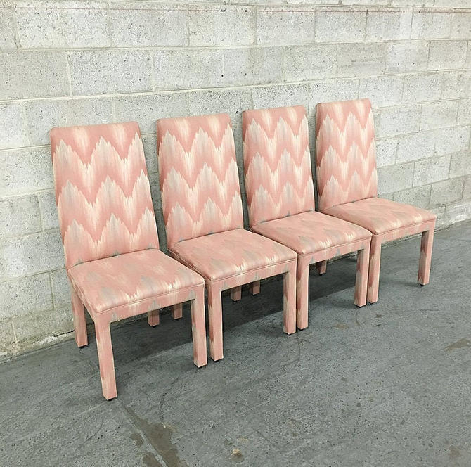 LOCAL PICKUP ONLY-----------Vintage Set of 4 Dining Chairs by RetrospectVintage215