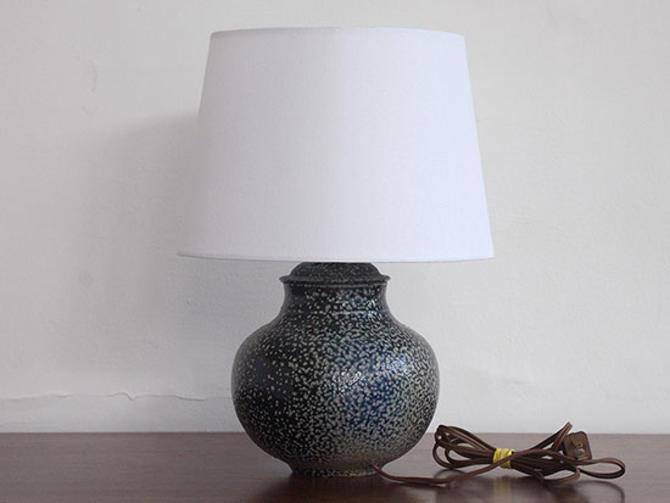 Small Studio Pottery Ceramic Lamp