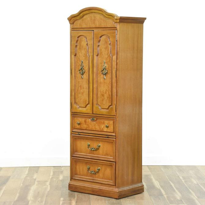 Thomasville Pier French Provincial Wardrobe Cabinet