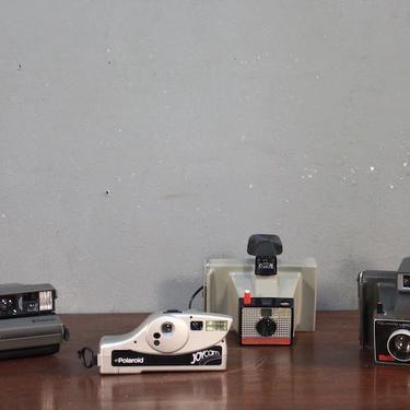 Set of 4 Polaroid Cameras