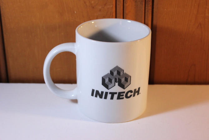 Vintage Initech Mug Office Space Lumberg Michael Bolton Samir Take