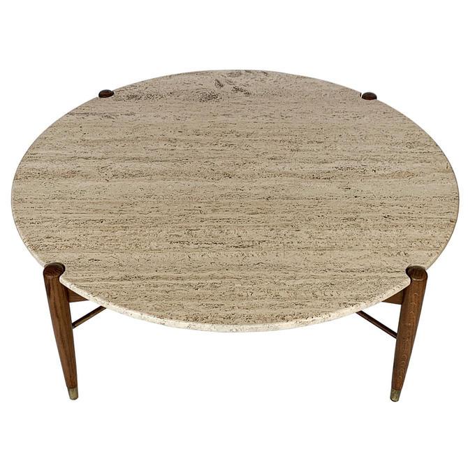 DUX Travertine Coffee Table