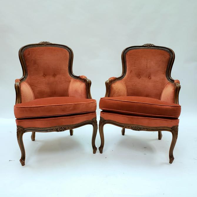 Italian made Louis XV Style Pair of Chairs