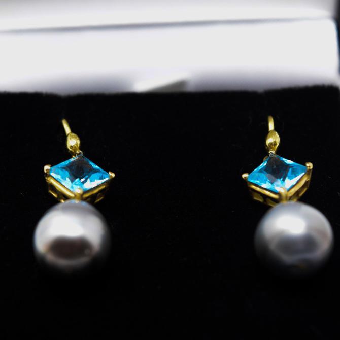 Gabrielle Sanchez Pearl Earrings