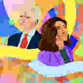 Joe Biden & Kamala Harris: President and Vice President by MonicaAhanonuDesign