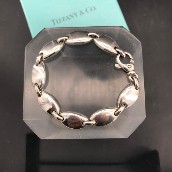 Tiffany Pebble Link Bracelet Sterling by BrainWashington