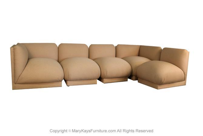John Mascheroni Modular Mid Century Sectional Sofa by Marykaysfurniture