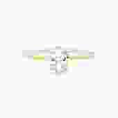 Morgan White Sapphire Ring