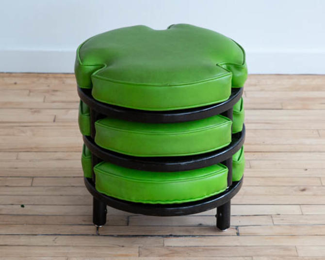 Harvey Probber Style Stacking Stools