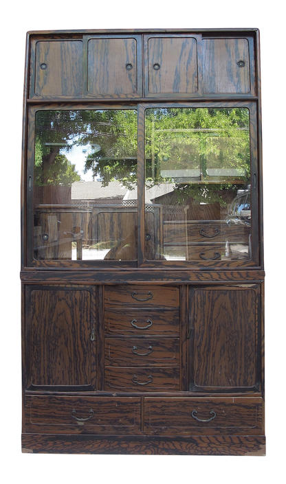 15C21 Cha  Tansu 2 Section / SOLD