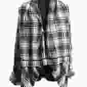 45 RPM Flannel Open Shirt