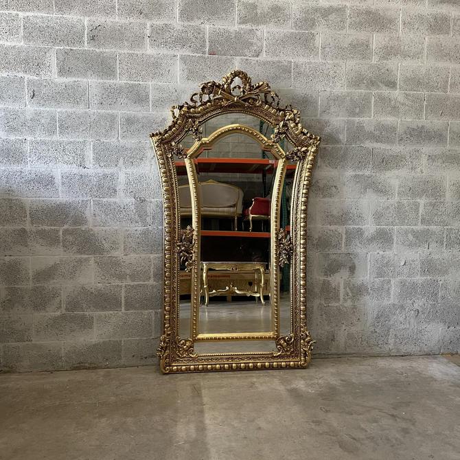 French Mirror *1 Available* Square Baroque Mirror Rococo Antique Mirror Gold Leaf Furniture Interior Design Furniture Vintage Mirror by SittinPrettyByMyleen