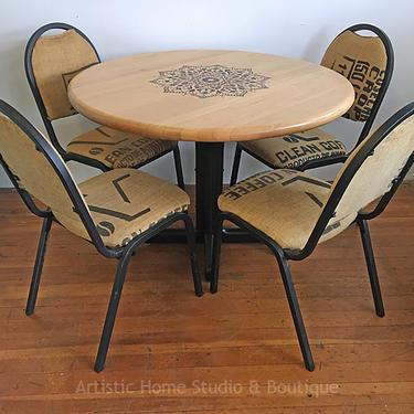 Unique Kitchen Table & Chairs