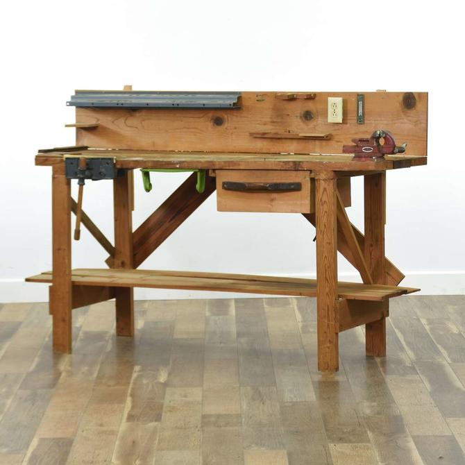 Artisan Rustic Workbench