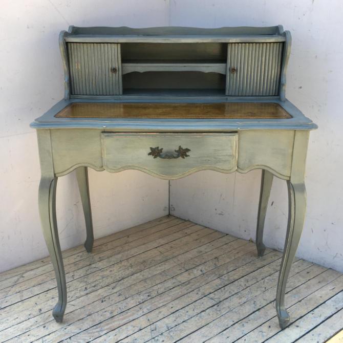 Grey Writing Desk