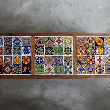 Tile Design mid-century modern Coffee Table by KaashiFurniture
