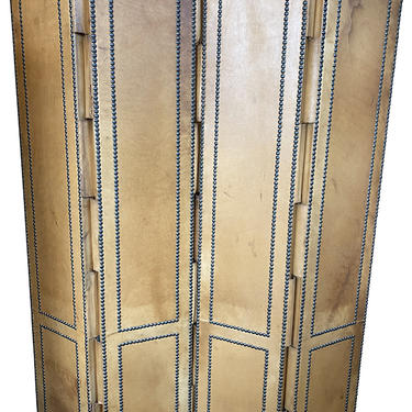 Antique Leather Screen