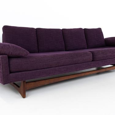 Adrian Pearsall for Craft Associates Mid Century Sled Base Sofa - mcm by ModernHill