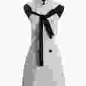 Proenza Schouler Velvet Bow Dress