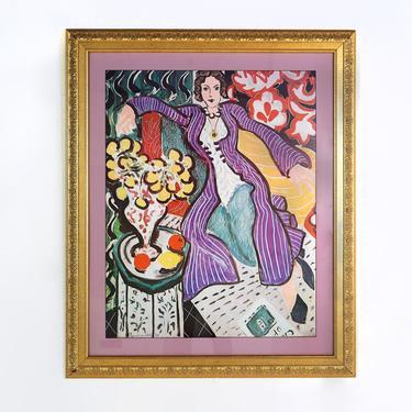 """Woman In a Purple Coat """" by BetsuStudio"""