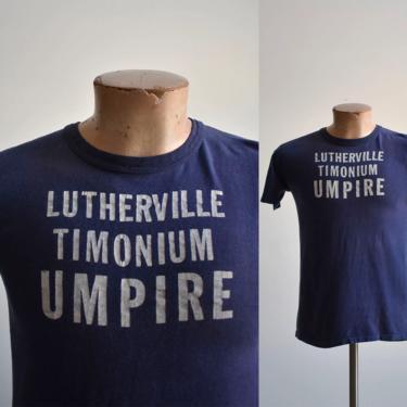 1970s Lutherville Timonium Maryland Umpire Tee by milkandice