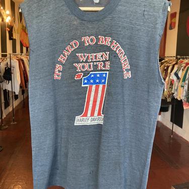True Vintage Harley Davidson t-shirt L by GimmeDangerLA