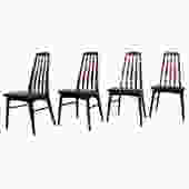 Set of 4 Koefoed Hornslet Danish Rosewood Dining Chairs
