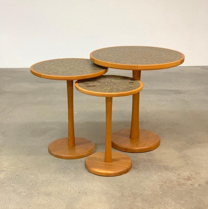 Trio of Marshall Studios Occasional Tables by Jane + Gordon Martz by midcenTree