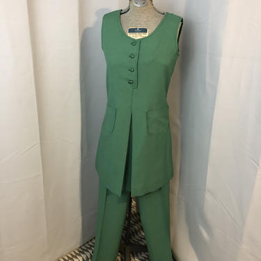 1970s vintage Girl Scout Scouts Uniform tunic and pants Costume by RadioRadioVintage