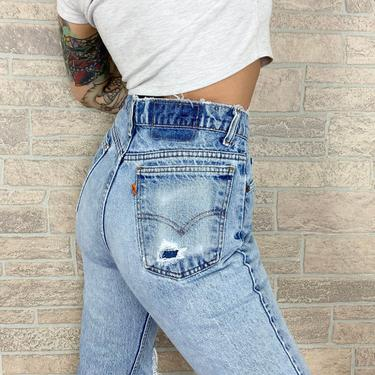 Levi's 517 Orange Tab Jeans / Size 27 by NoteworthyGarments