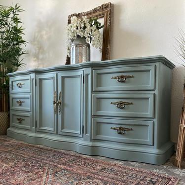Vintage Drexel Heritage Grand Villa Dresser Credenza Nightstands End Tables *Local Pick Up Only by BluePoppyFurniture
