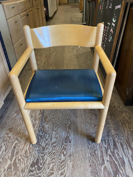Small Wooden Arm Chair