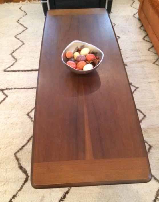 Vintage, MCM, mid century coffee table. by SouliDesign
