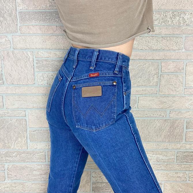 Wrangler Vintage Western Jeans / Size 25 26 by NoteworthyGarments