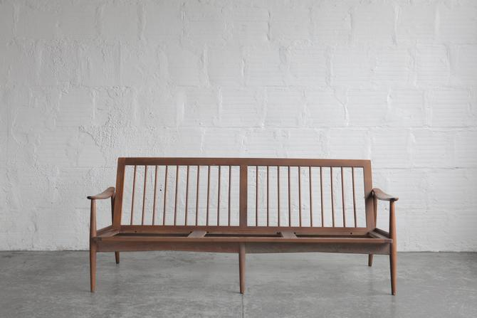 Mid Century Sofa Structure (Upholstery Available)